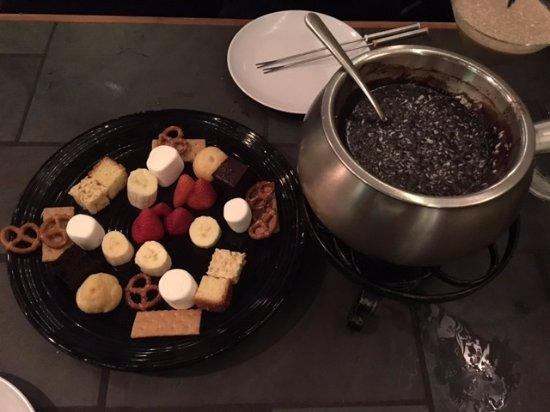 Casselberry, Flórida: Chocolate Fondue