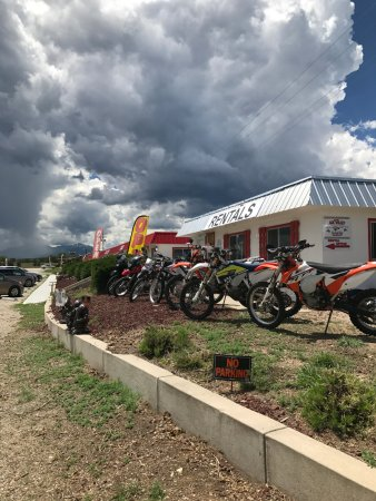 Nathrop, CO: we have various models and size motorcycles that are all street legal