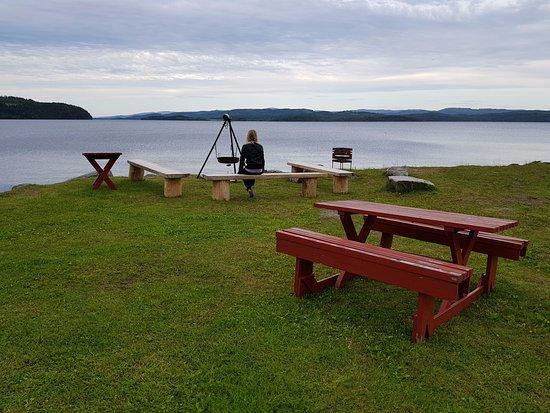 Steinkjer, Noruega: Nede ved Snåsavannet.