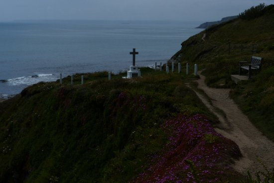 South West Coast Path just outside Porthleven