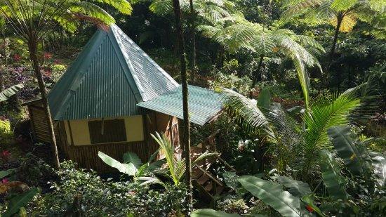 Marigot, Dominica: Carib cottage