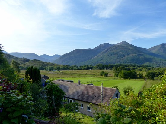 North Ballachulish, UK: view from parking bay