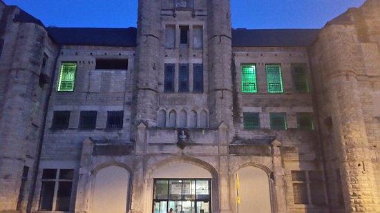 Jefferson City, MO: The entrance of the prison