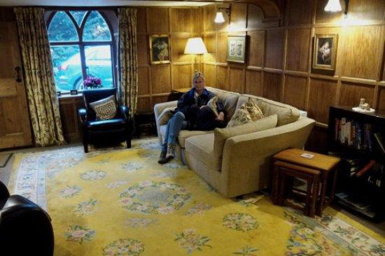 Birchanger, UK: The lobby