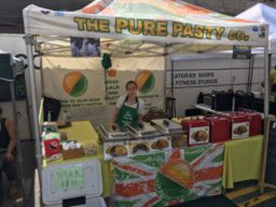 Vienna, VA: We sell at a Farmers Market too.