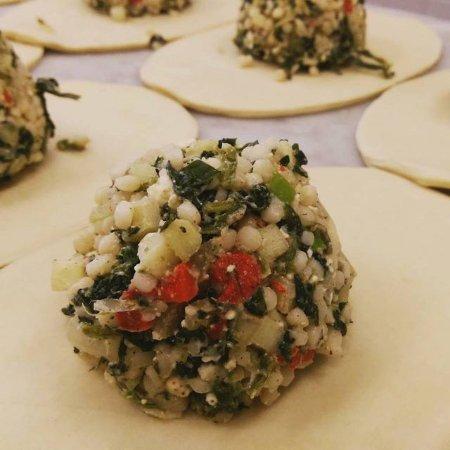 Vienna, VA: Spinach & Feta a top Veggie Pasty