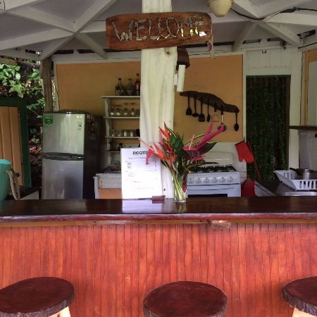 Marigot, Dominica: Our Open Kitchen Restaurant