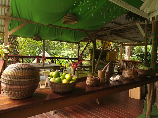 Marigot, Dominica: Our restaurant