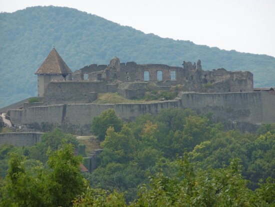 Visegrad, Ουγγαρία: view from balcony