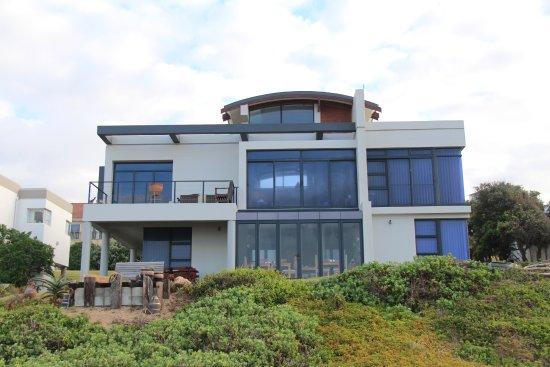 Beachview, Republika Południowej Afryki: Blick vom Meer aus