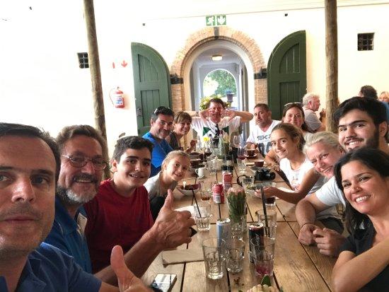 Constantia, Sudáfrica: Almoço com o grupo