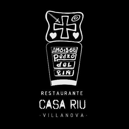 Villanova, España: Escudo Casa Riu