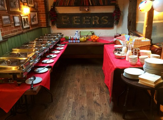 Хоршем, UK: all set up for a private function or event