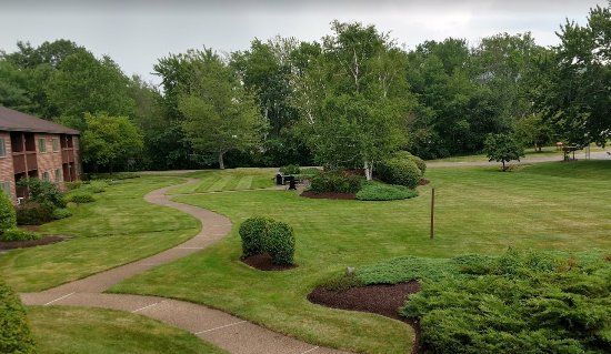 Fireside Inn & Suites at Lake Winnipesaukee: View from the room balcony