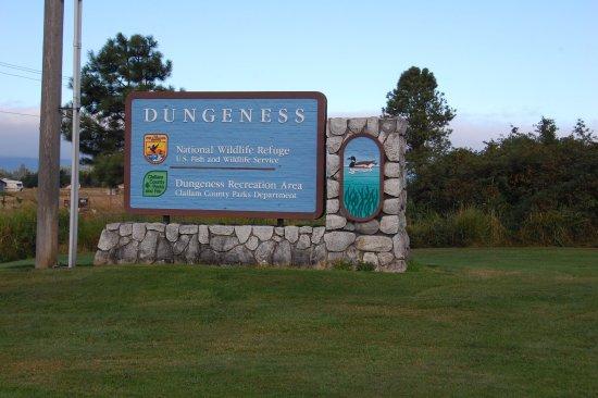 Sequim, Вашингтон: Dungeness NWR