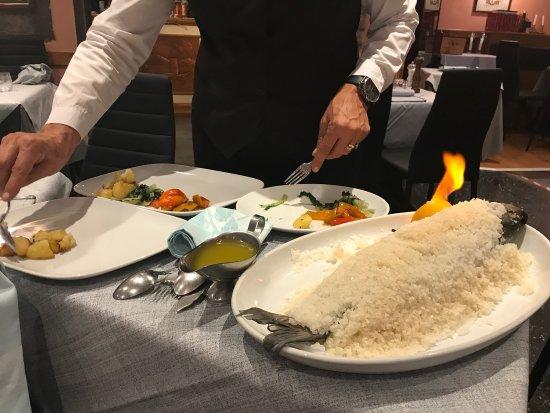 Ristorante Terrazza Barchetta: Forberedelse af fiskeret