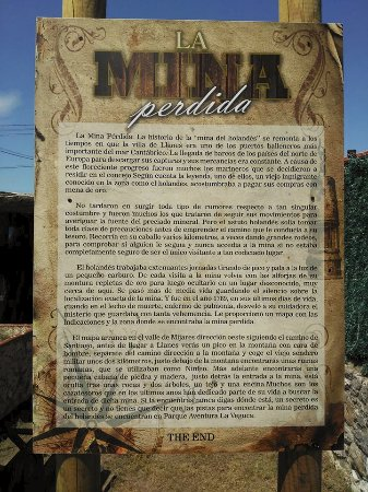 Parrilla La Veguca: Historia de la Mina