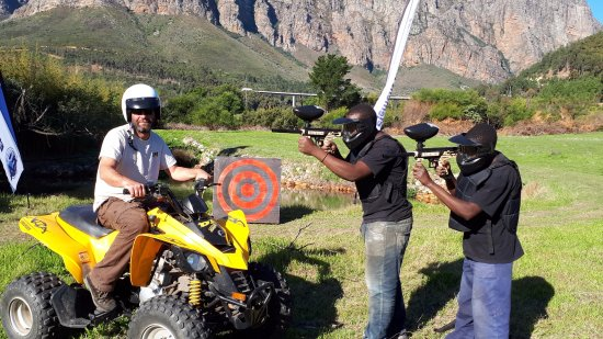 Quadbike & Paintball Element Adventures