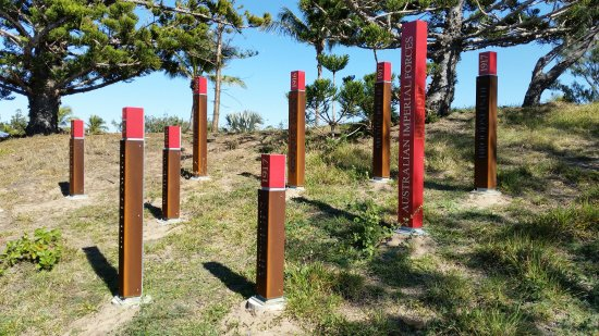 Emu Park, Australia: Battles named in these posts for each year of the war.