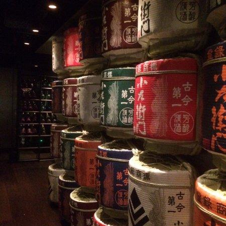 Sake Restaurant & Bar : Sake Casks
