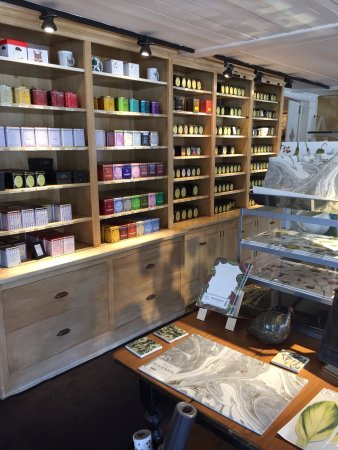 Millerton, Nowy Jork: tea in gift shop
