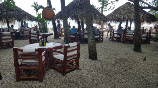 Locanda: Outdoor seating