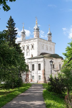 Pereslavl-Zalessky, Russia: Трапезная палата с Всехсвятской церковью