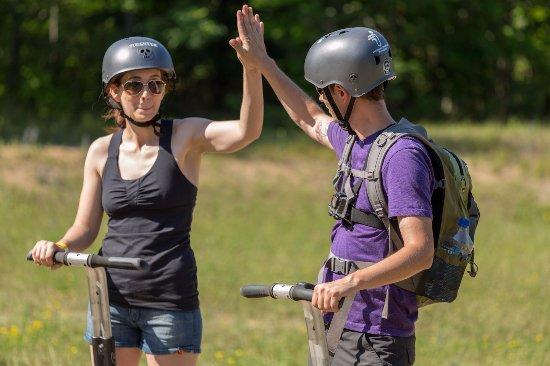 Barrie, Canadá: So many high fives!