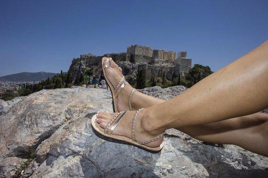 ca03534be11 100% Δερμάτινα σανδάλια - Picture of Ges Sandals, Athens - TripAdvisor