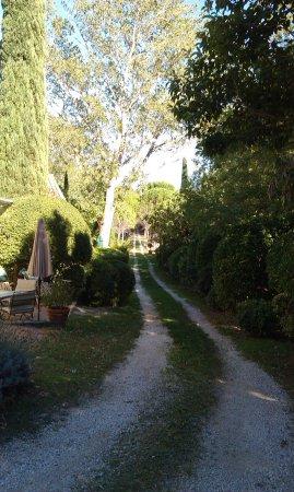 Loriol-du-Comtat, Francia: Acceso al Château
