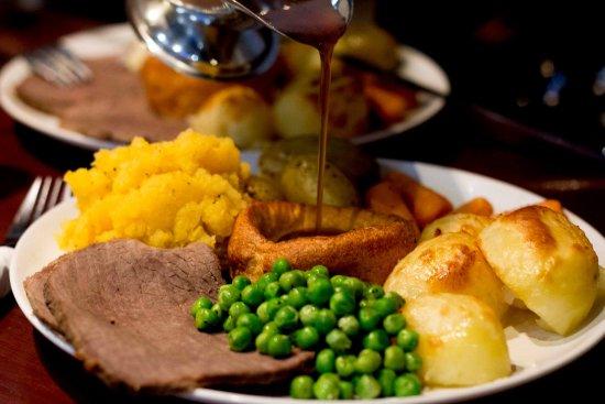 Merthyr Tydfil, UK: Sunday Lunch - £8.95 for 3 courses