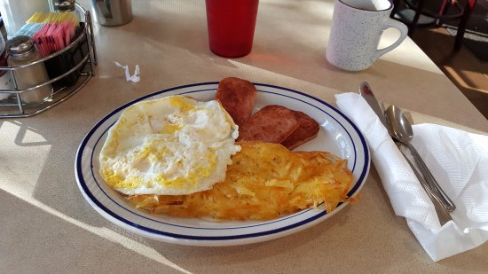 Burlingame, CA: spam and eggs