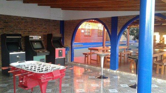 Jardin America, Argentina: Sala de juegos