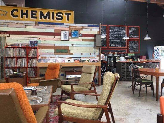 The Refinery: A corner of the cafe