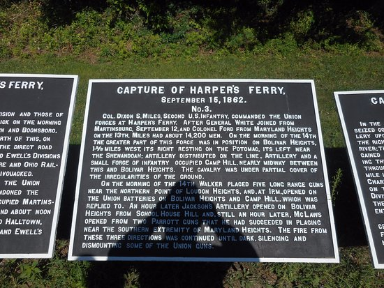 Harpers Ferry, WV: signage