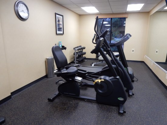 West Springfield, MA: Fitness room