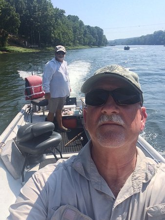 Bull Shoals, Αρκάνσας: Papa Bill and me on the White River