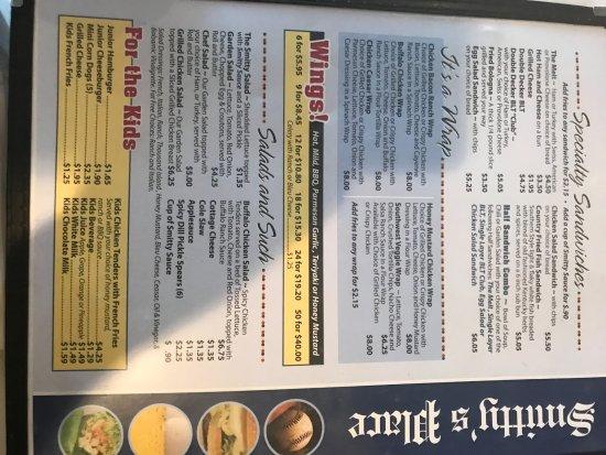 Elyria, OH: menu