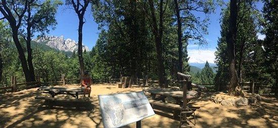 Castella, Kalifornien: View from the Vista Point