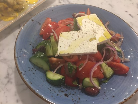 Whangaparaoa, Nueva Zelanda: Big Greek salad