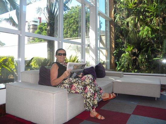 Caesar Business Manaus: Área comum de rara beleza