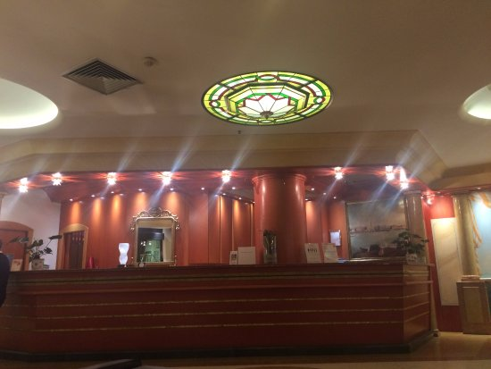 Hotel Tritone: recepção