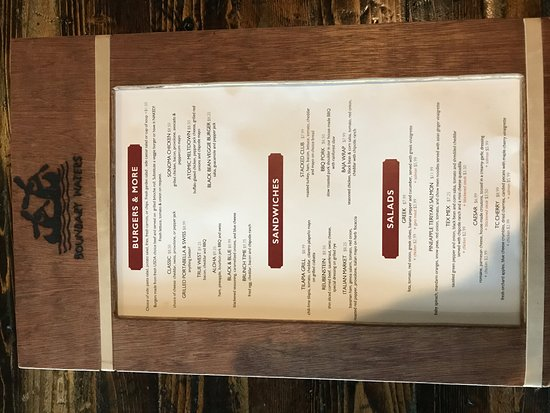 Sturgis, MI: menu