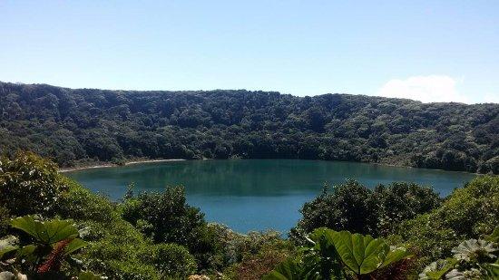 Poas Volcano National Park, Costa Rica: Vista de laguna