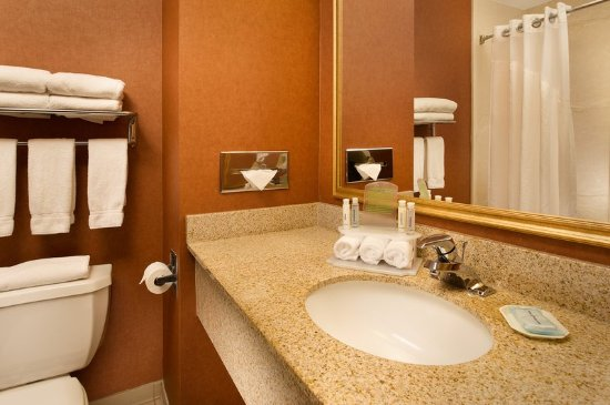 Holiday Inn Express Hotel & Suites Chambersburg: Guest Bathroom