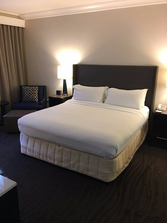 Hilton Santa Cruz / Scotts Valley: Nice and new room