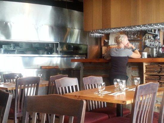 Inside Uli's Restaurant, White Rock, BC