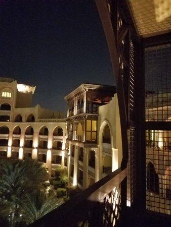 Shangri-La Hotel, Qaryat Al Beri, Abu Dhabi: From the balcony