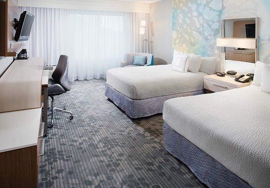 Sandston, VA: Double/Double Guest Room