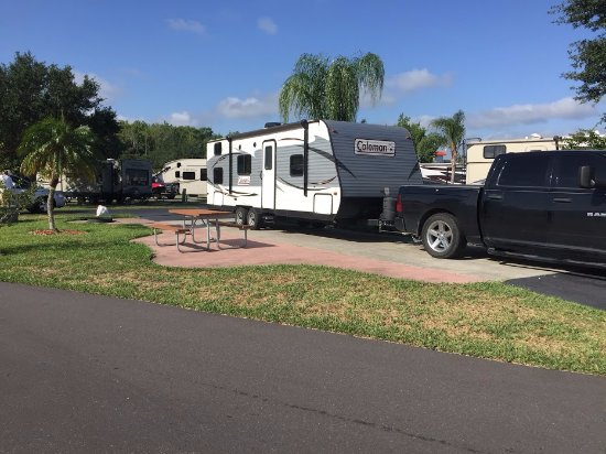 Orlando / Kissimmee KOA Campground : Our site 113